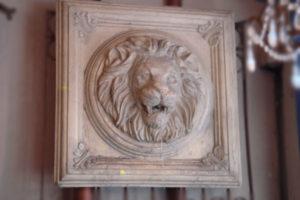 Lion in Stone composite Frieze