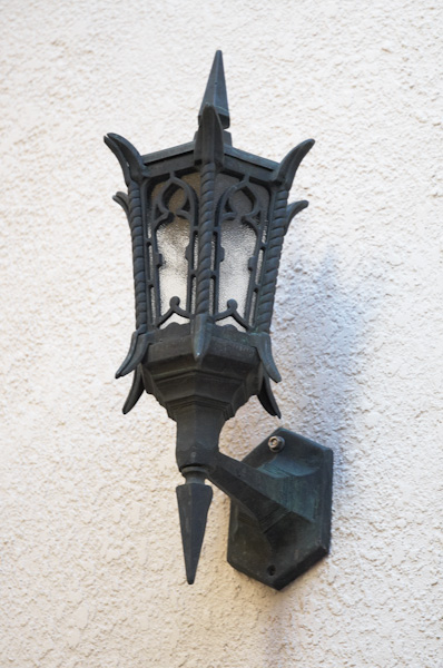 Gothic Revival Wall Mounted Lantern