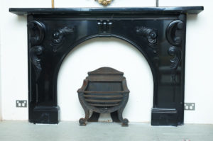 Belgian black Fireplace
