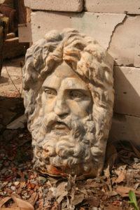 Pericles head ex. Insurance building Sydney.