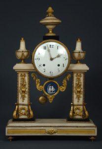 french-louis-xvi-gilt-bronze-and-white-marble-mantel-clock