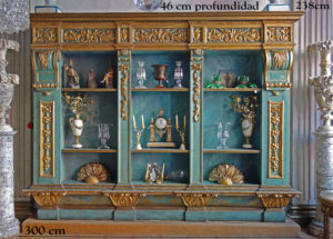 large-italian-baroque-bookcase