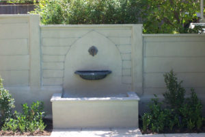 Bronze French Water Fountain with Spout