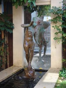 Pan Figure Fountain