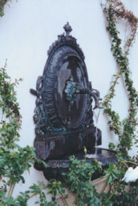 Bronze Cameo Wall Fountain