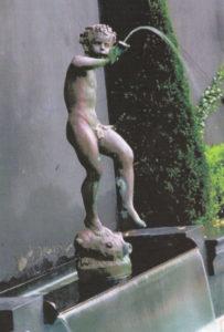 Bronze Pan Fountain