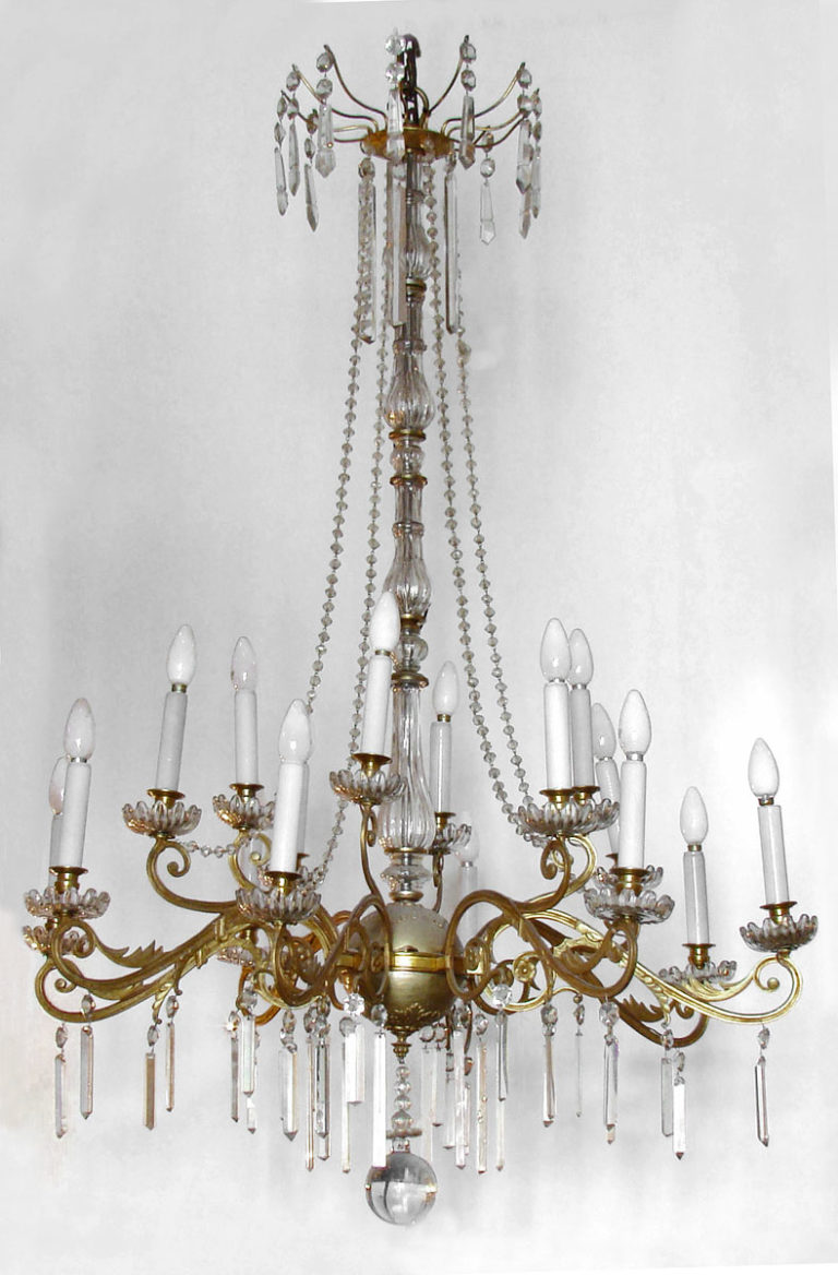 French chandelier Circa 1860