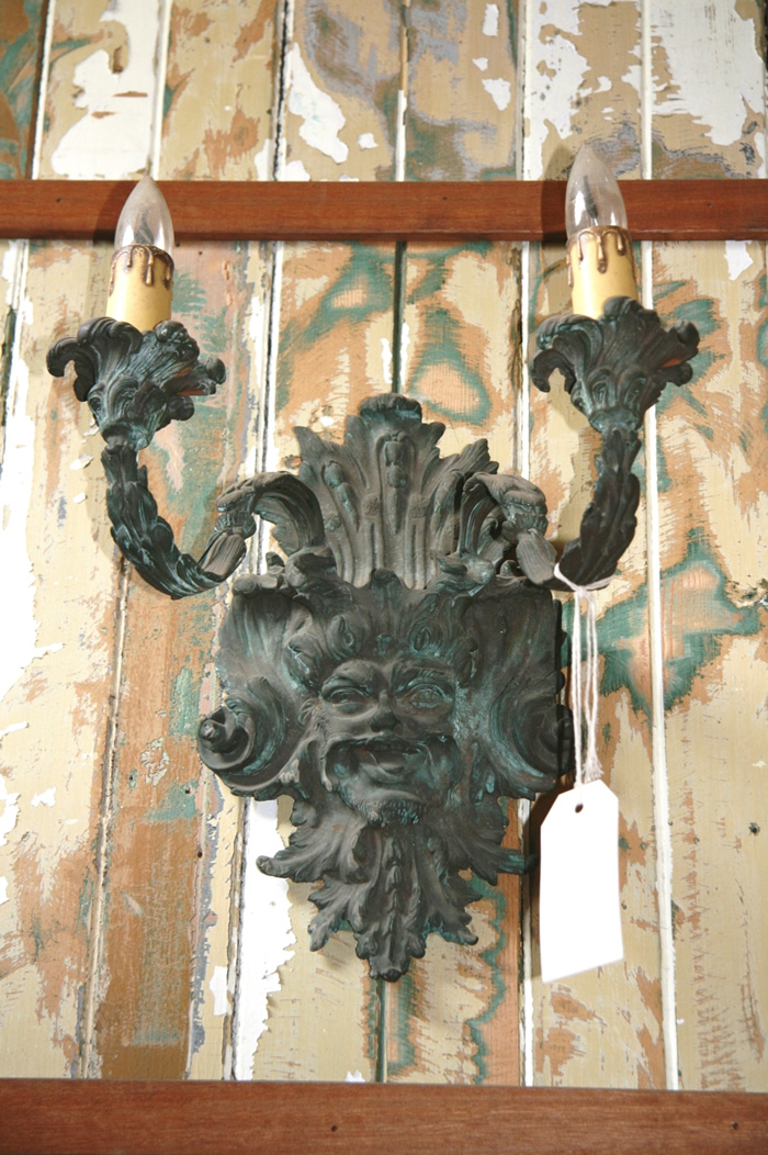 Neo Gothic Style Bronze Wall light