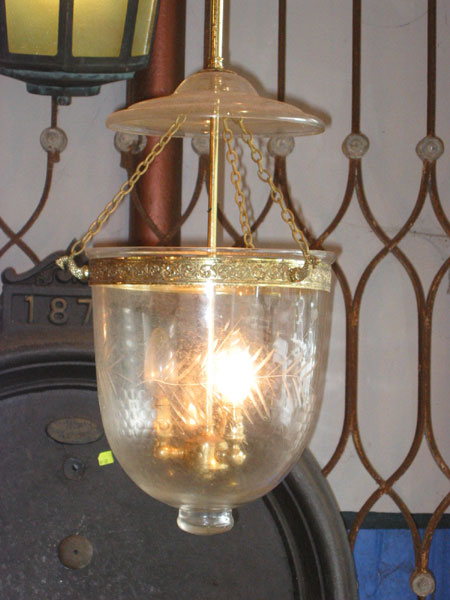 Hundi Light with Brass Suspension