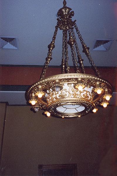 Art Deco Ceiling Mounted Light
