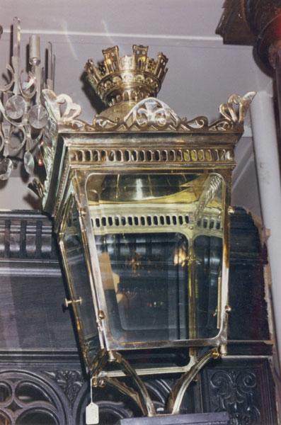 Original Brass Paris Street Light