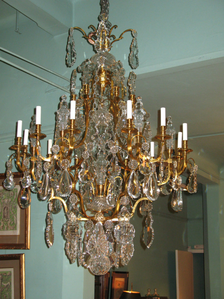 Large French Louis LXV1 chandelier