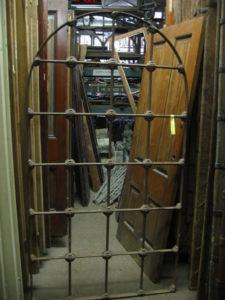 Original arched window gate