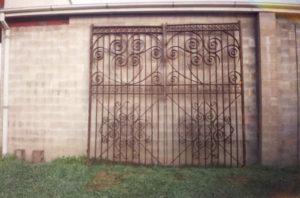 Original victorian carraigeway gates