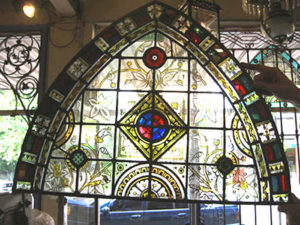 Leadlight window fully restored