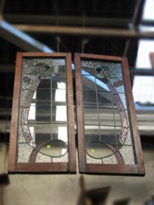 Leadlight window frames