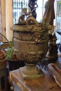 Substantial Bronze urn
